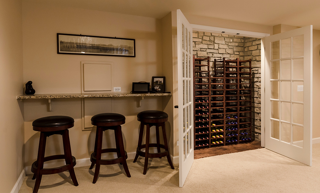 Chicagoland Basement Design Remodeling Synergy Builders